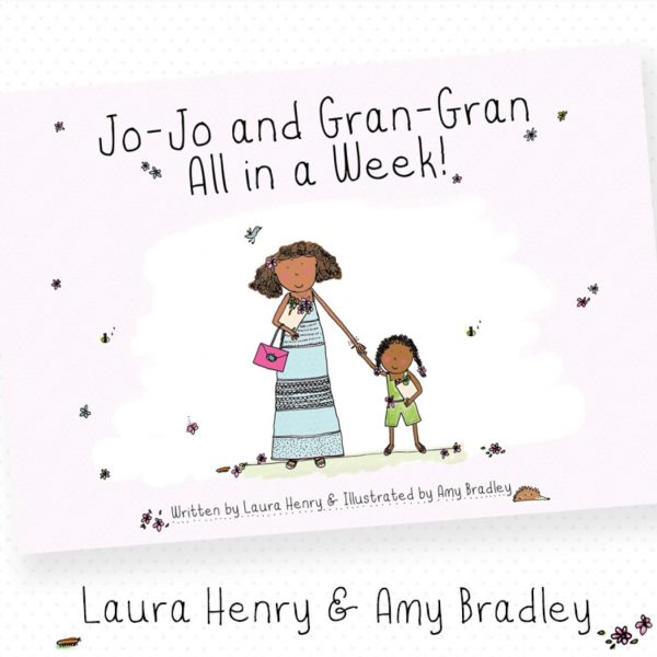 Jo Jo and Gran Gran holding hands